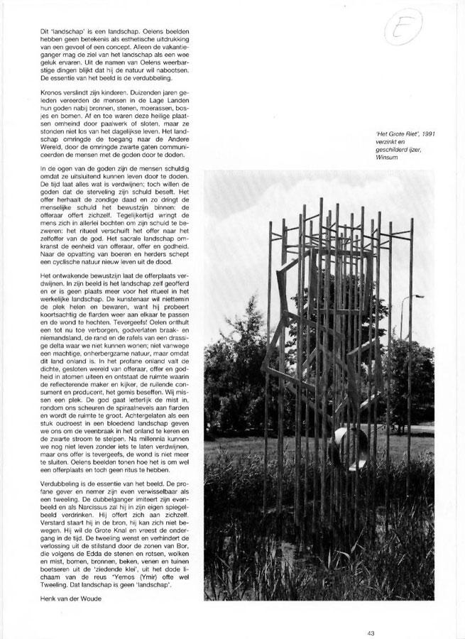 Henk Oelen, Beelden De Librije Zwolle