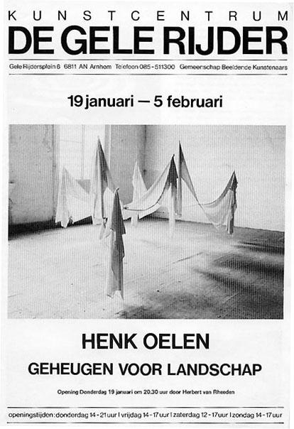 Henk Oelen - Geheugen voor landschap